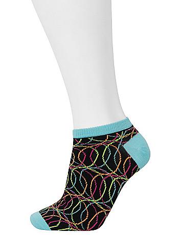 Neon sport socks 3-pack