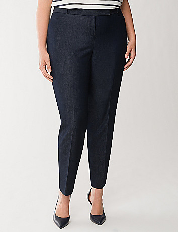 Lena refined denim ankle pant