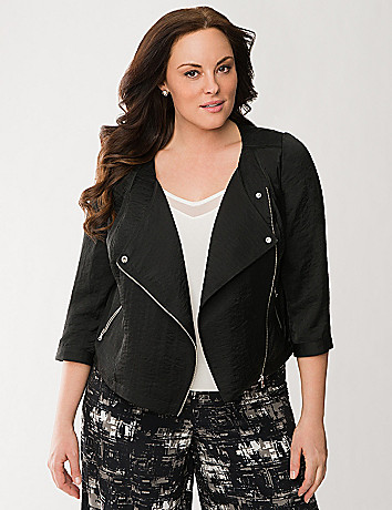 Lane Collection light moto jacket