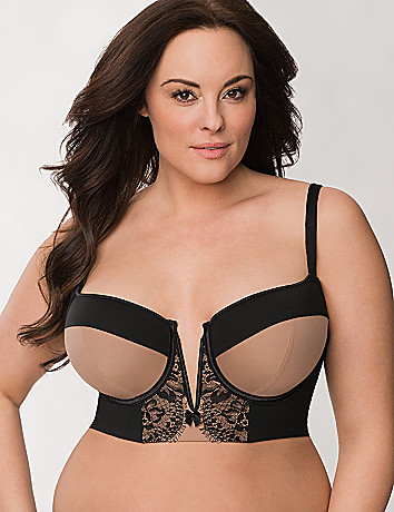 Full Figure Long Line Bra