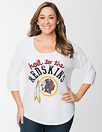 Washington Redskins baseball tee