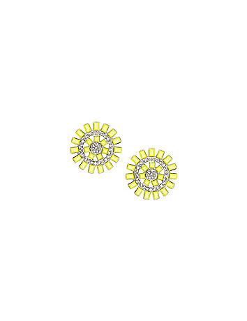 Sunburst earrings by Lane Bryant
