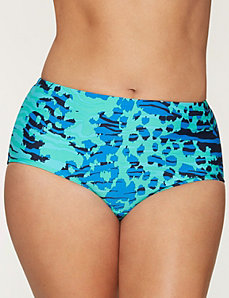 Animal print swim hipster by COCOS SWIM