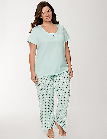Polka dot sleep set