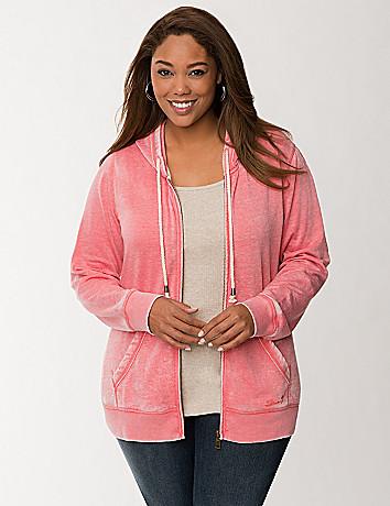 Burnout zip hoodie by Seven7