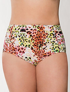Animal print bikini bottom