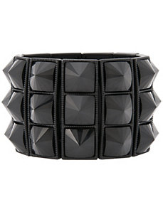 Punk pyramid bracelet by Lane Bryant