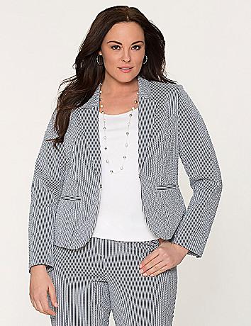 Seersucker jacket