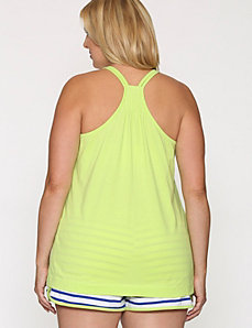 Racer back sleep tank