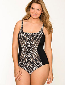 Graphic maillot by Gottex®