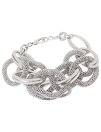 Mesh link bracelet by Lane Bryant