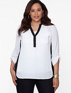 Colorblock Soft Shirt