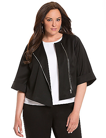 Lane Collection boxy cropped jacket