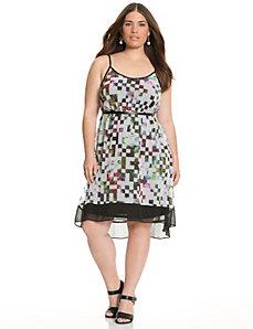 High-low tank dress