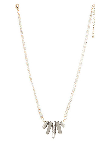 Lane Collection short shard necklace
