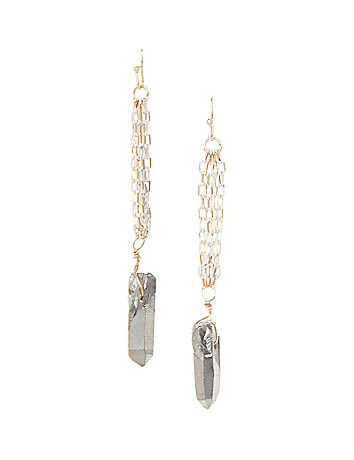 Lane Collection shard earrings