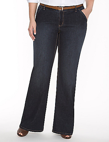 Genius Fit? flared trouser jean
