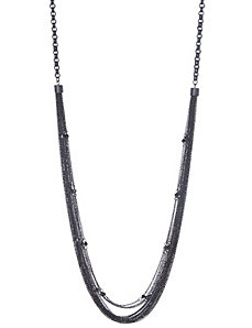 Matte chain long necklace by Lane Bryant