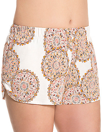Boho print sleep short