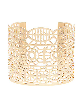 Filigree cuff bracelet by Lane Bryant