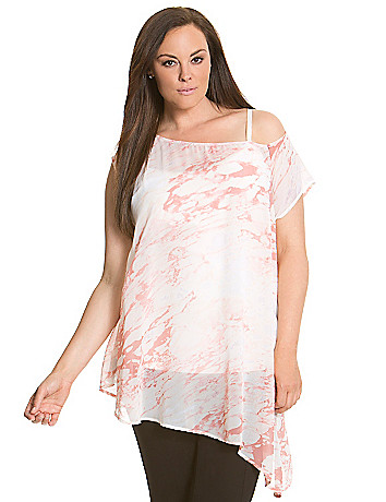 6th & Lane off shoulder tunic