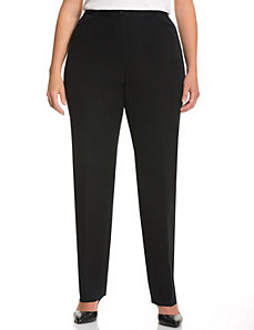 Ashley Cotton Smart Stretch Straight Leg Pant