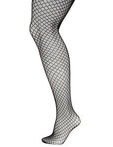 Diamond mesh tights
