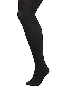 Solid fleece tights