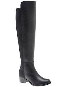 Letizia over the knee leather boot