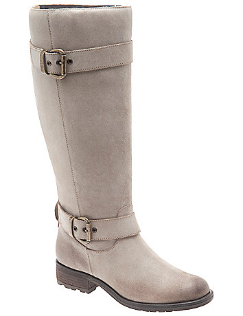 Lia leather riding boot