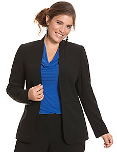 Tailored Stretch long jacket