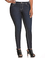 Genius Fit™ straight fit skinny jean