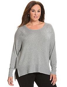 6th & Lane embellished fox sweater