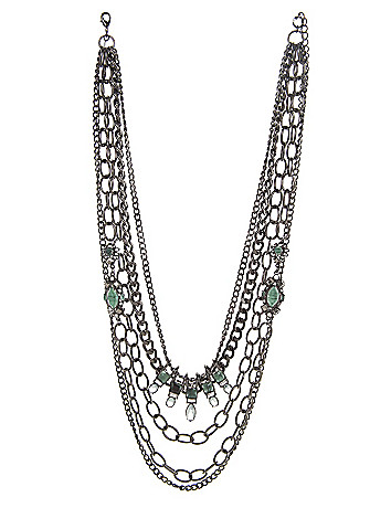 6th & Lane stone necklace