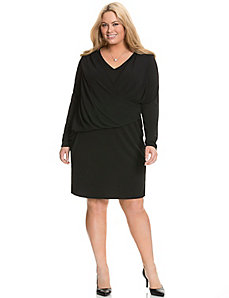 Chiffon overlay dress by DKNYC
