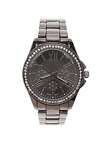 Cubic zirconium watch by Lane Bryant