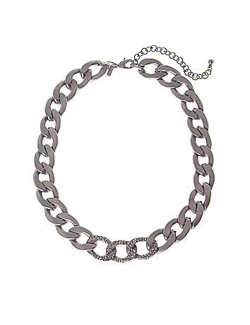 Status link necklace by Lane Bryant