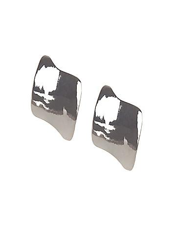 Modern wave earrings by Lane Bryant