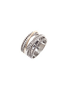 Intertwined ring by Lane Bryant