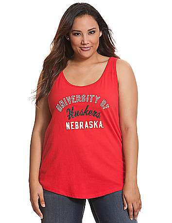University of Nebraska embellished tank
