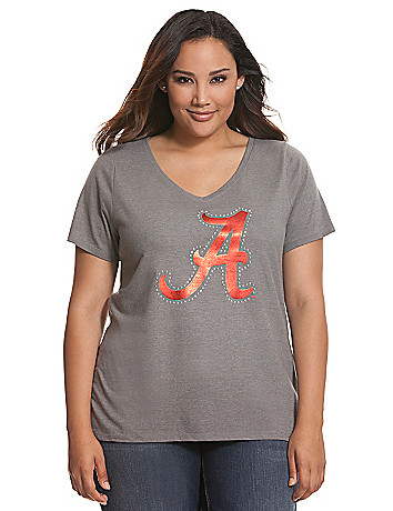 University of Alabama embellished tee