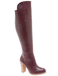 Luciana leather over the knee boot