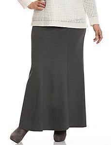 Brushed Jersey maxi skirt
