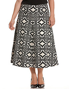 Tapestry trumpet skirt by Isabel Toledo