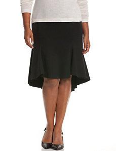 High-low trumpet skirt