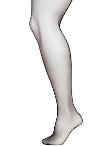 Back seam sheer pantyhose