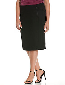 6th & Lane piped pencil skirt