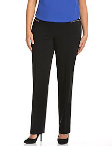 Lena Sexy Stretch straight leg pant with Control Tech
