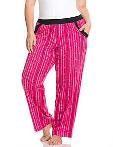 Falling hearts sleep pant