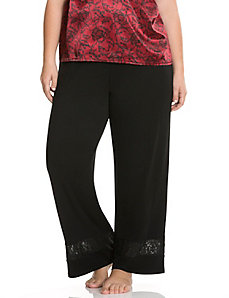 Tru to You lace hem sleep pant